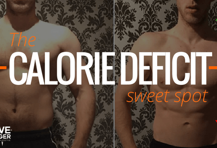The Calorie Deficit Sweet Spot